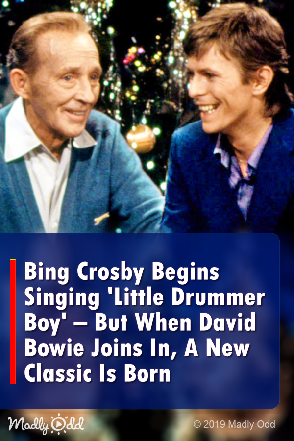 Bing Crosby Begins Singing 'Little Drummer Boy' – But When David Bowie Joins In, A Classic Is ...