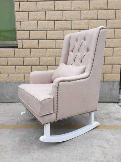 Awe Inspiring Sale Alba Linen Rocking Chair Feeding Chairs Rocking Unemploymentrelief Wooden Chair Designs For Living Room Unemploymentrelieforg