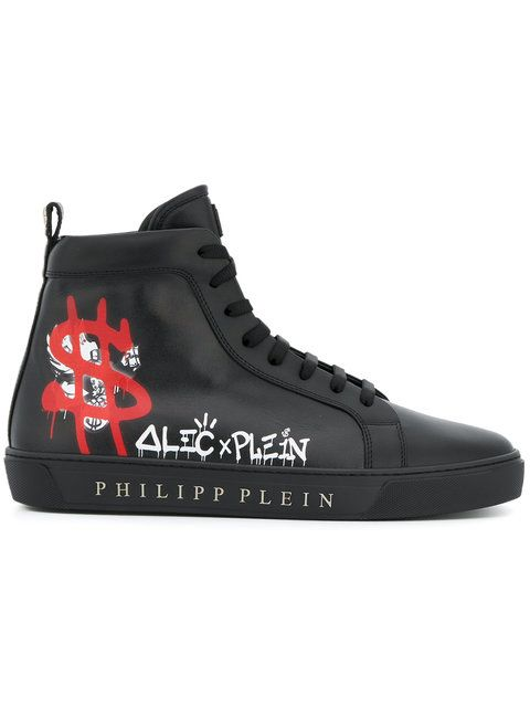 715cfe6f070 PHILIPP PLEIN Alec x Plein hi tops. #philippplein #shoes # | Philipp ...