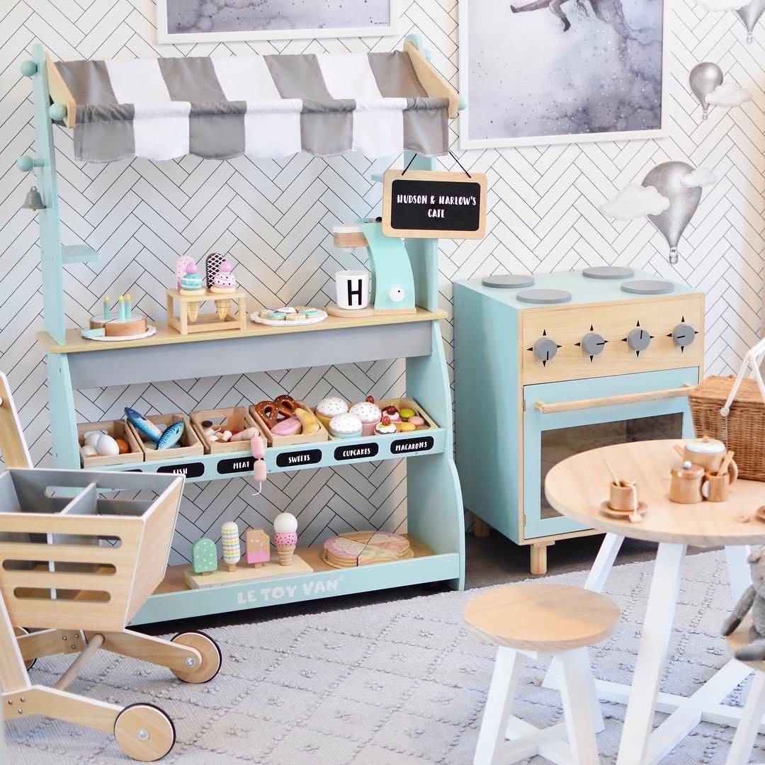Kinderküche & Kaufladen - alles für das eigene Kindercafé!