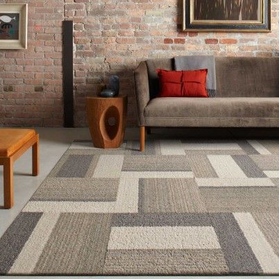Buy Familiar Chorus Taupe Carpet Tile By FLOR