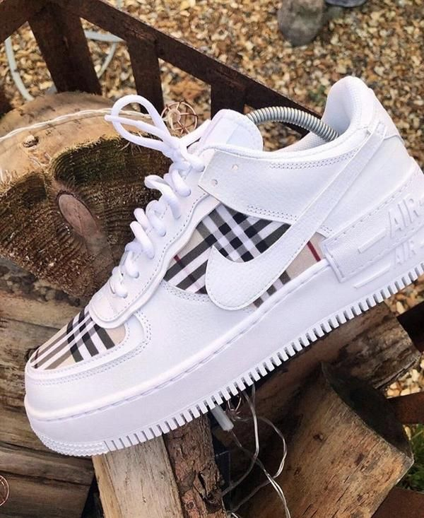 Burberry AF1s Shadow White