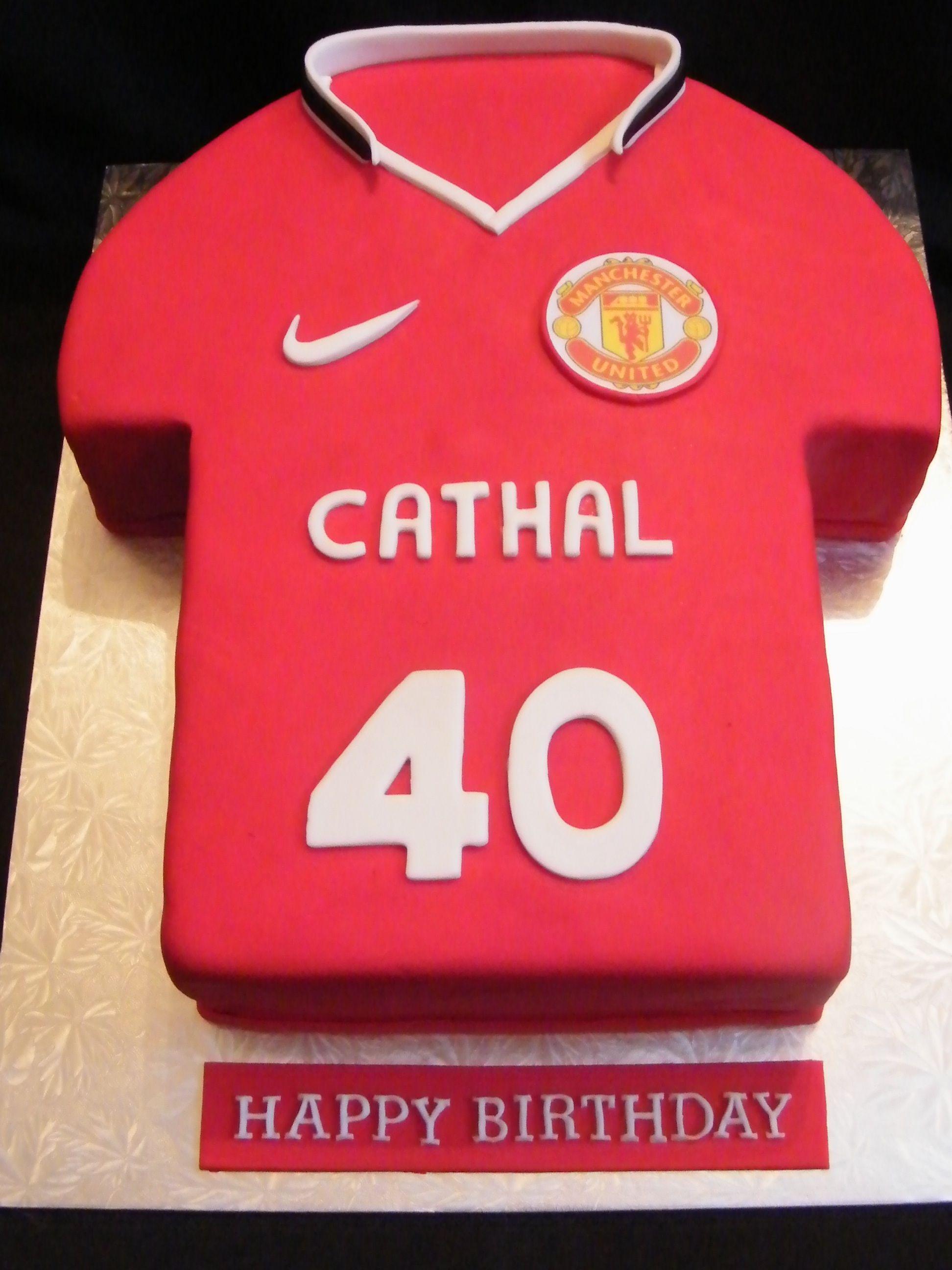 Manchester United Cake Stencil