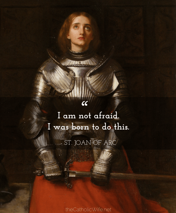 Monday Morning with the Saints {no. 27 St. Joan of Arc
