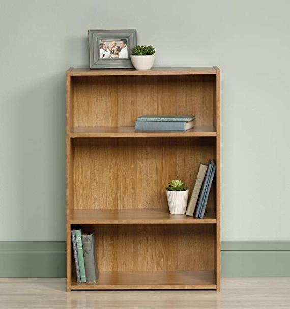 3Shelf Bookcase, Highland Oak finish in 2020 Shelves