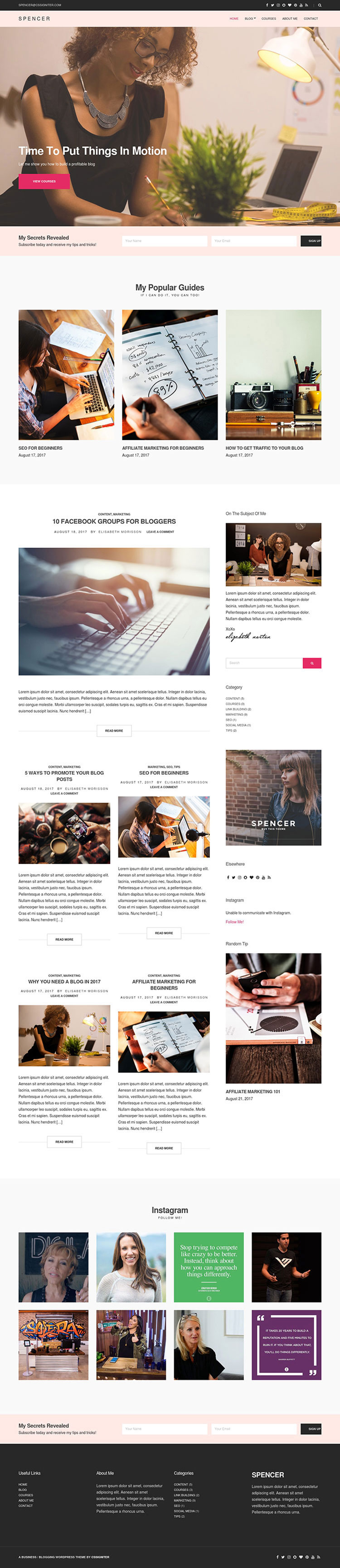 Pin by Explore Theme on WordPress | Pinterest | Wordpress and ...
