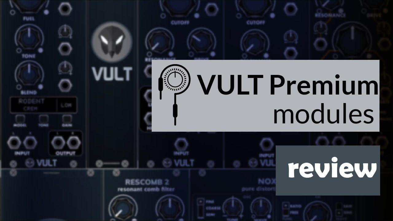 Vult Premium Modules - VCV Rack Review (79 Demo Patches