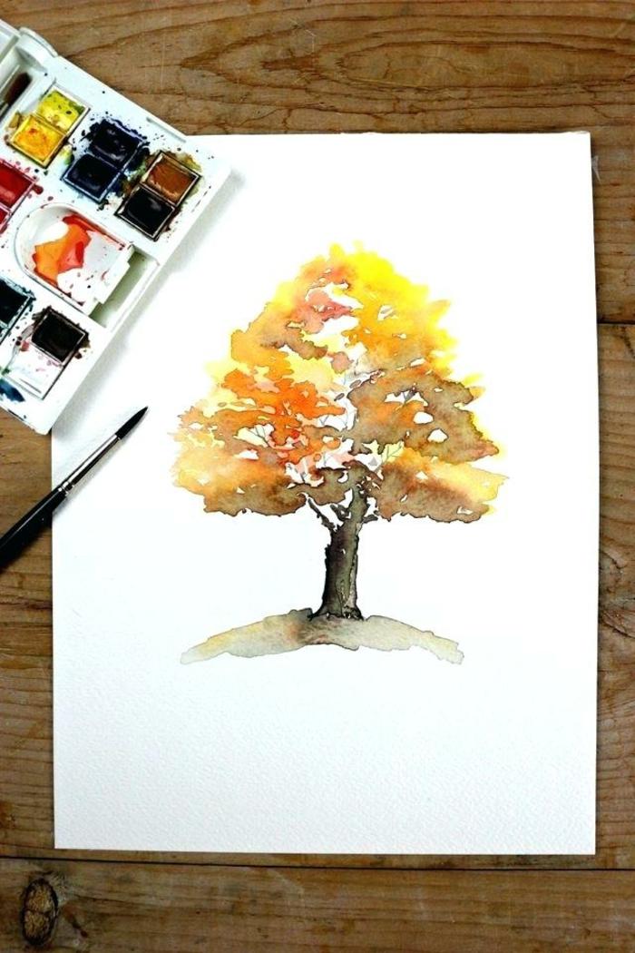 1001 Ideas De Dibujos Con Acuarelas Inspiradoras En Fotos En