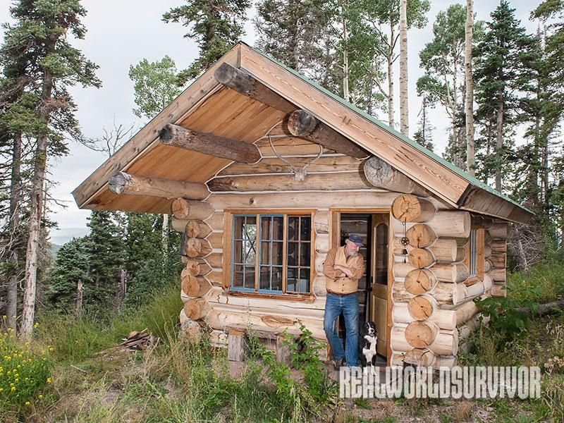 Charmant Five Expert DIY Tips To Build The Log Cabin Of Your Dreams On A Budget!