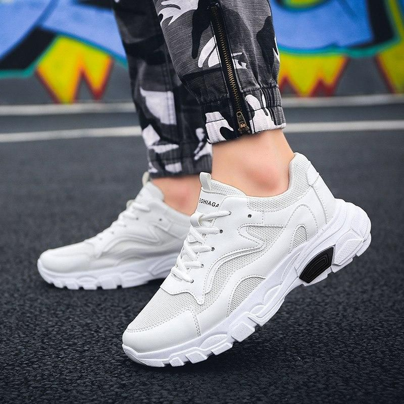 Men's spring Korean trend 2019 new wild casual shoes old