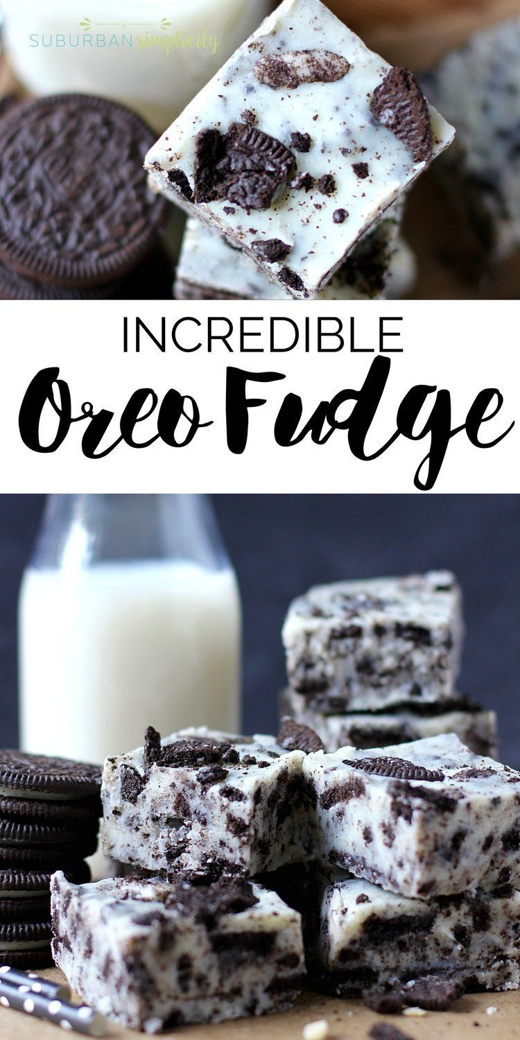 Amazing Oreo Fudge | Cookies and Cream Fudge