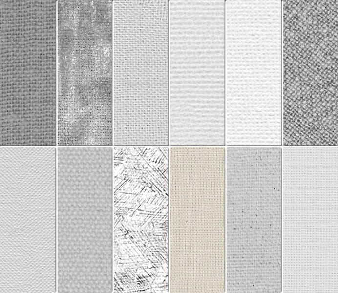 Awesome 12 Artist's Canvas Texture Patterns. First a huge apology ...