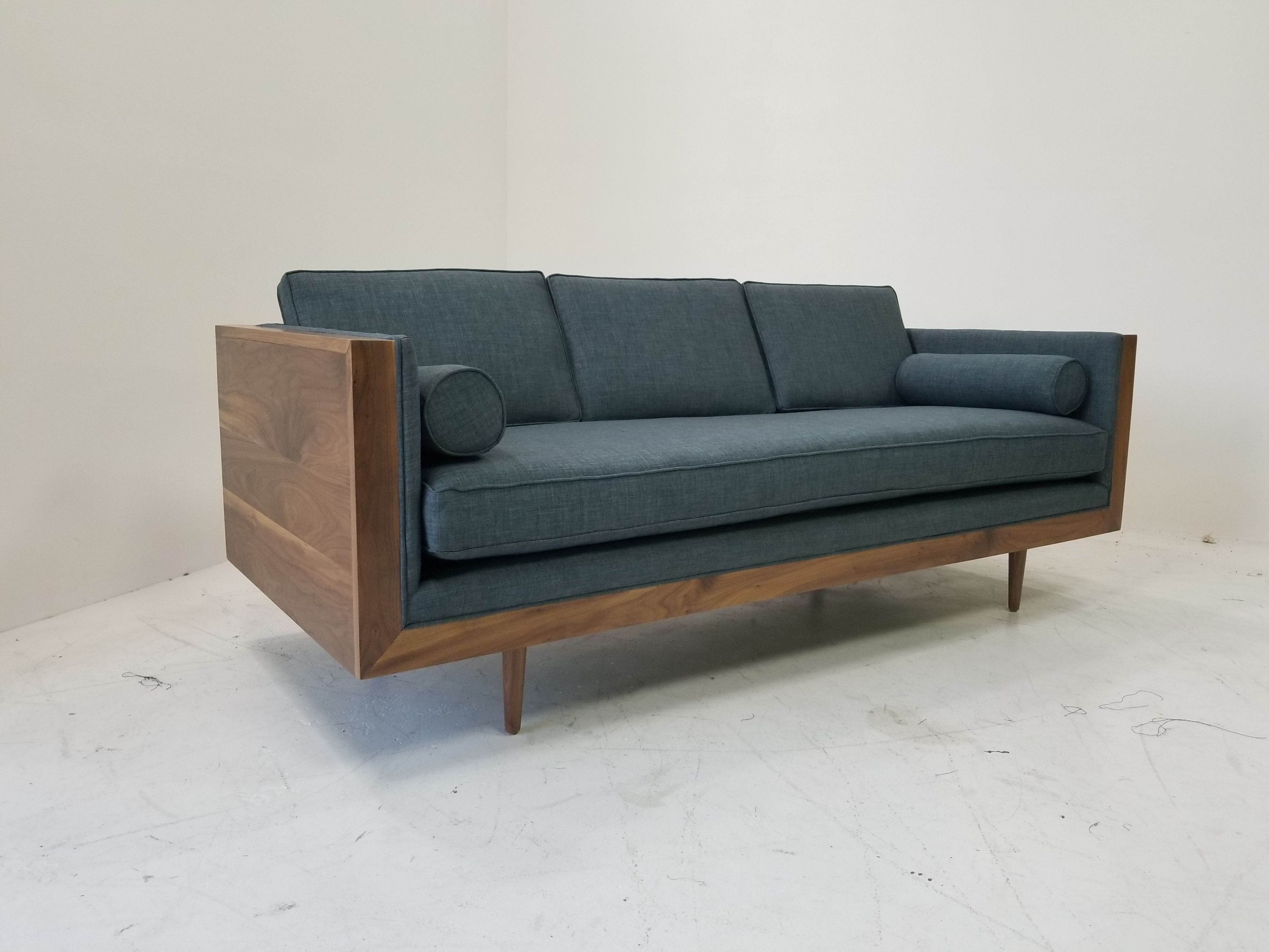 Skyline Sofa The Skyline Sofa Has Beautiful Wood Framing That Adds A Rustic Warmth To Your Living Room While Living Room Furniture Sofas Sofa Blue Home Decor