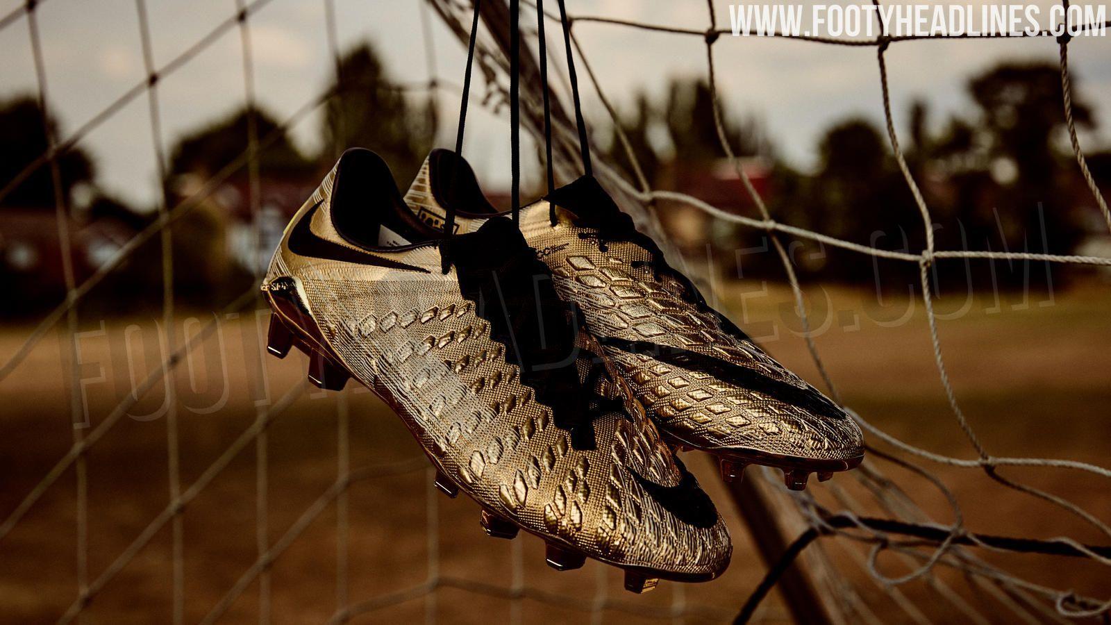 6dc7e5236 Gold Nike Hypervenom Harry Kane Boots Revealed - Footy Headlines ...