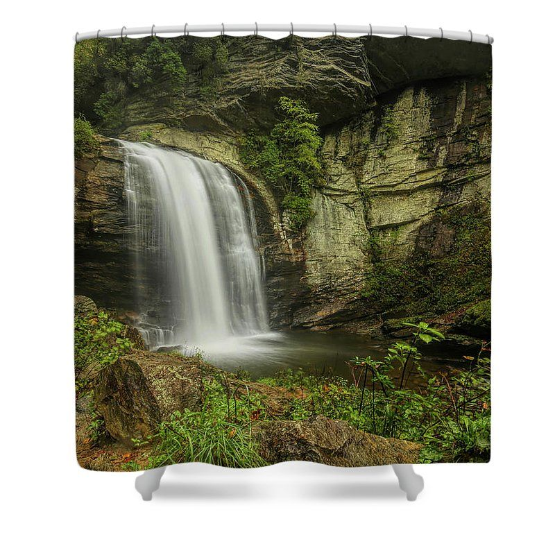 Looking Glass Falls 5 Shower Curtain for Sale by Judy Vincent Bathroom