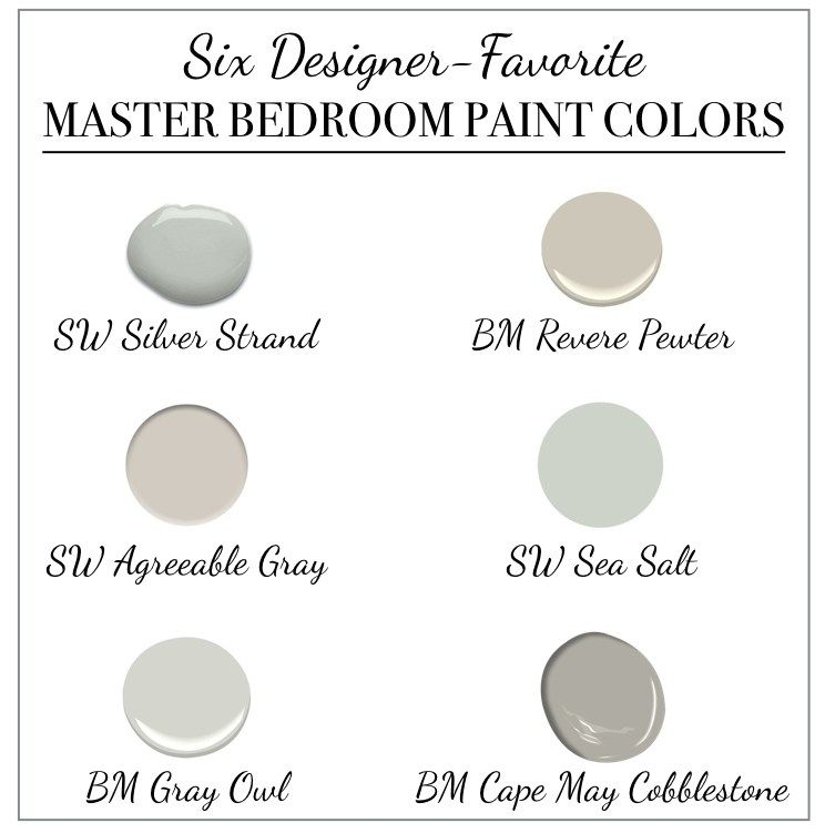 Six Designer-Favorite Master Bedroom Paint Colors images