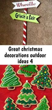 Photo of Great christmas decorations outdoor ideas 4,  #Christmas #decorations #great #ideas #oldfashi…