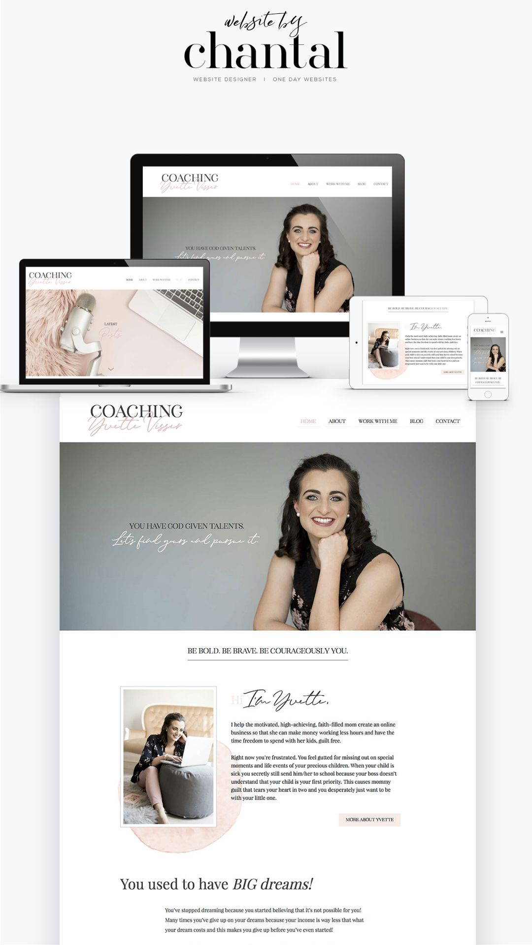 Website Design Coach Yvette Visser