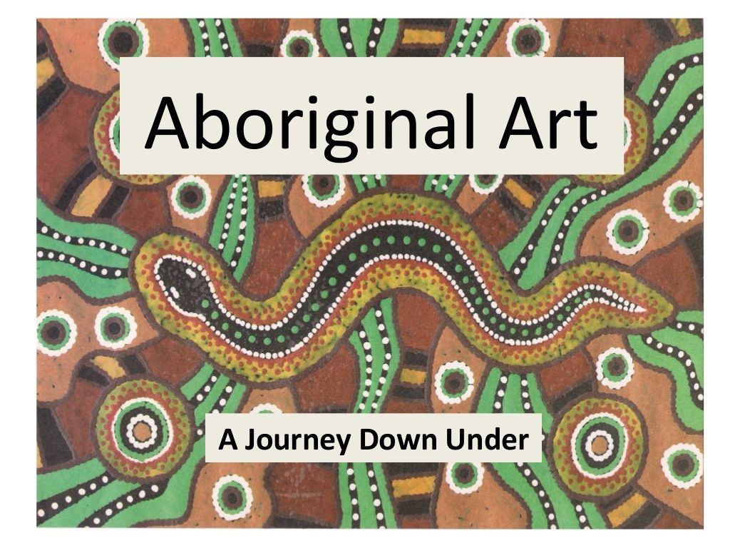 Aboriginal Art By Rosa Fern Ndez Via Slideshare