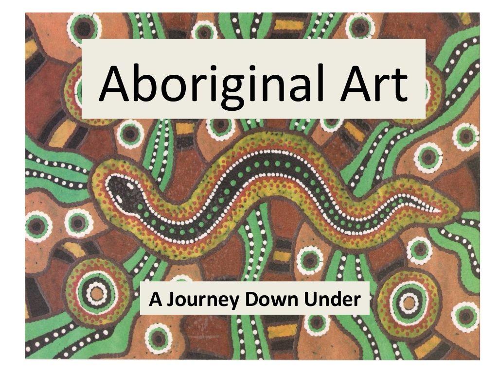 Aboriginal Art By Rosa Fern Ndez Via Slideshare