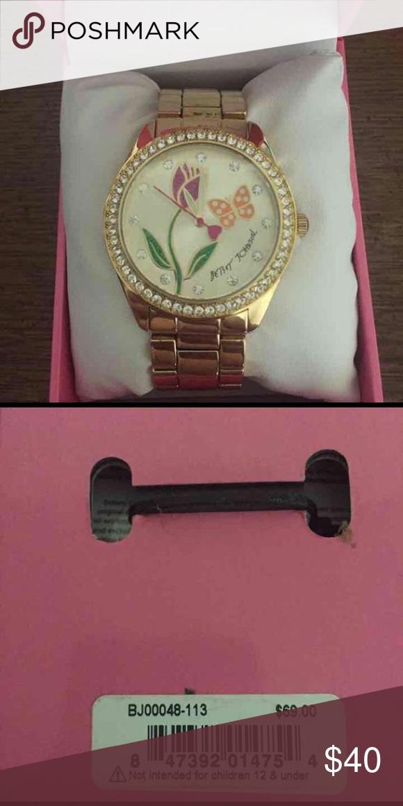 New in box Betsy Johnson watch never worn. betsy johnson  Jewelry Bracelets