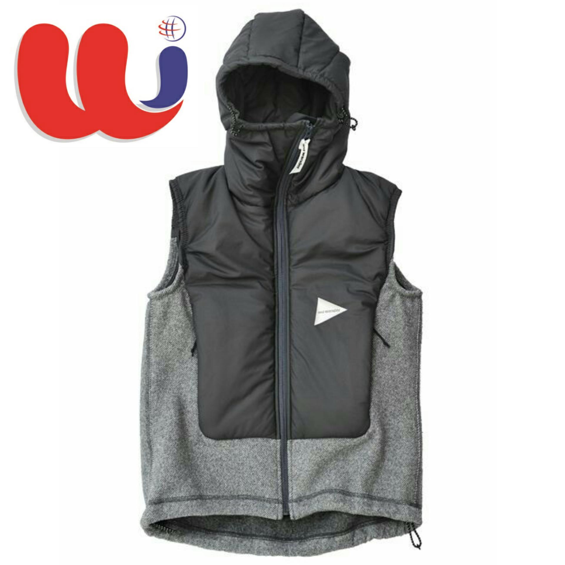 Custom wander-twill fleece vest at $27.00