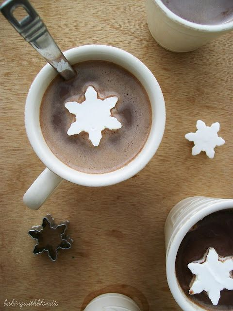 Or delightful snowflake marshmallows for your cocoa.