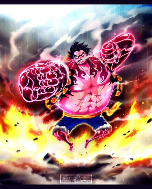 Monkey D Luffy Gear 4 One Piece One Piece Chapter Anime