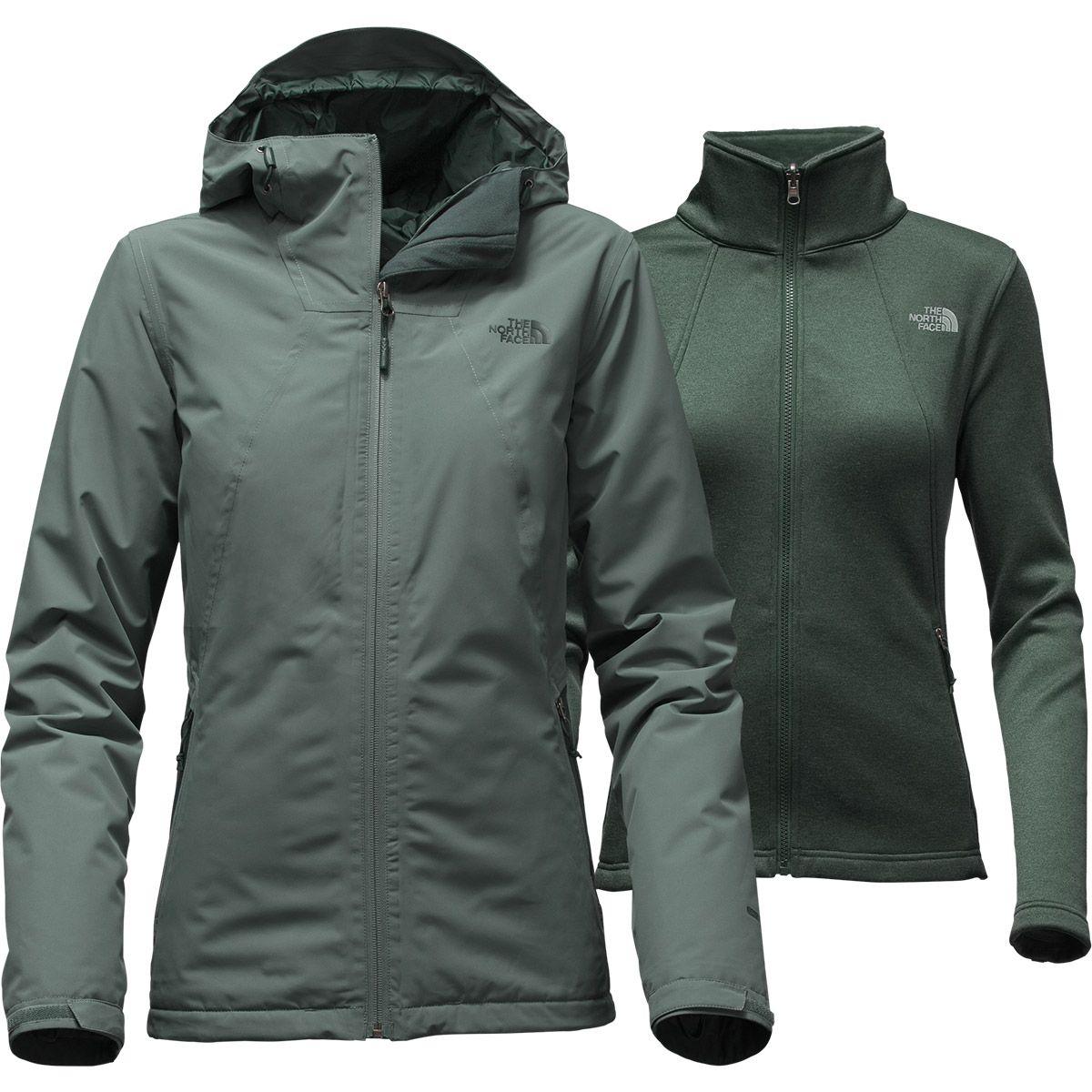 d884d93cb THE NORTH FACE Women's Highanddry Triclimate Jacket - HZZ-BALSAM ...