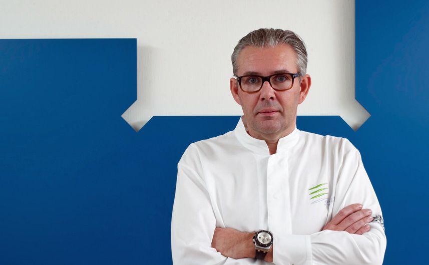 Drei-Sterne-Koch Peter Goossens aus dem Hof van Cleve in Belgien