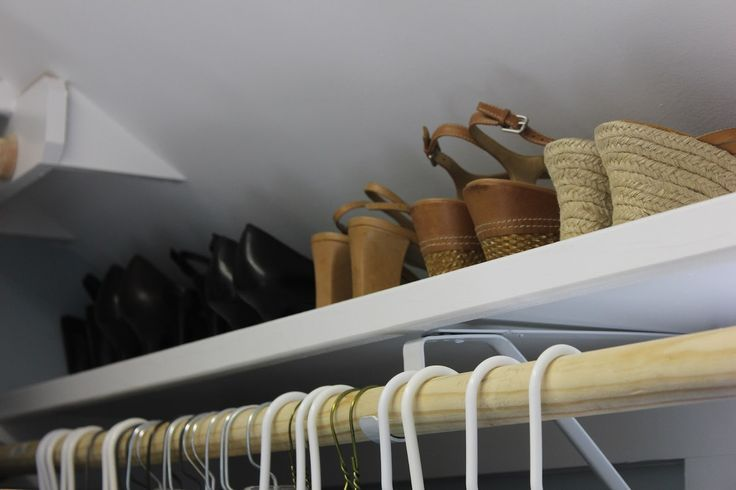 Closet Of Greatness: These Folks Have A Closet With A Sloped Ceiling, Just  Like Mine...and They Are Using It Wisely | Organize | Pinterest | Ceilings,  ...
