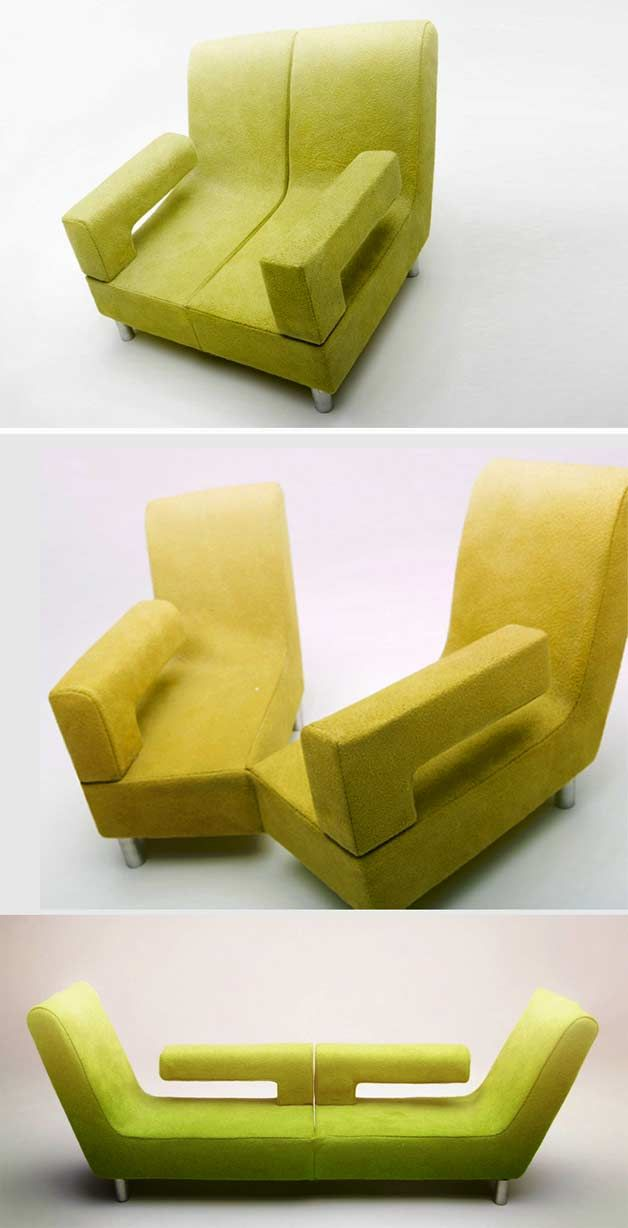 7 Clever Chairs For Small Spaces Multi Function Chairs