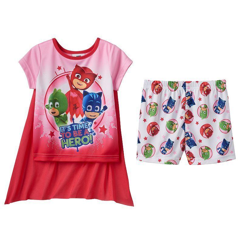 and Trousers Gekko Catboy Owlette PJ MASKS Disney Licensed Boys Girls Long Sleeve 100/% Cotton Pyjamas Set Pajamas Top