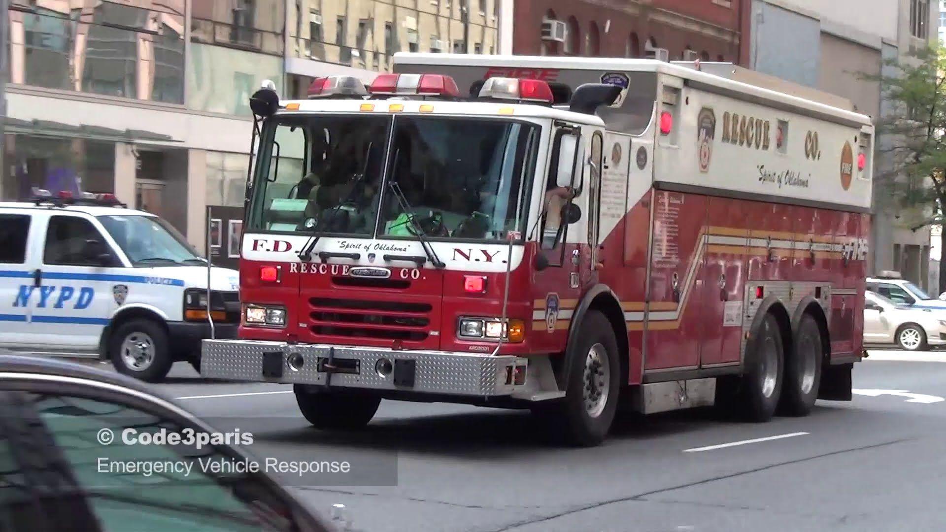 Fdny Rescue 1 Spare Air Horns Fdny Rescue 1 Fdny Rescue