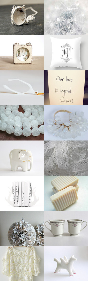 summer white(s) by bekkaleetrapp on Etsy--Pinned with TreasuryPin.com