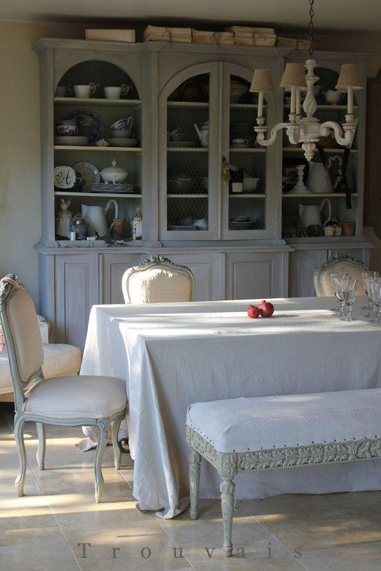 Inneneinrichtung, Landhaus, Esszimmer, Französisch Speiseräume, Bemalte  Möbel, Eingangsbereich Möbel, Luxus Möbel, Wohnmöbel, Danksagung