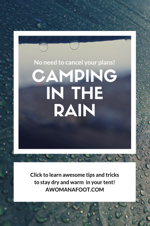 Camping in the Rain: Top Tips, Hacks, and Gear! | Camping ...
