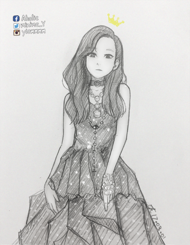 Pin by Kim Jojo on SNSD FaNaRt Kpop drawings