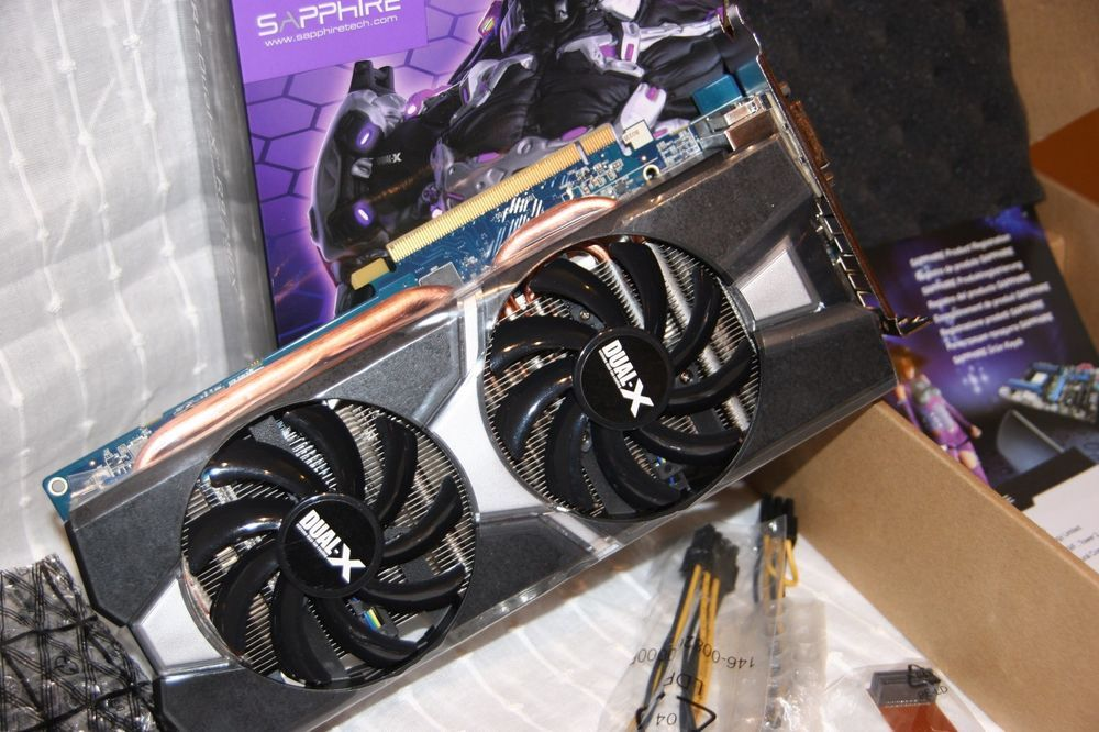 Used Sapphire Dual X R9 280x Amd Radeon 3gb Ddr5 Pci E Graphics Card Boxed Sapphire Graphic Card Used Computers Cards