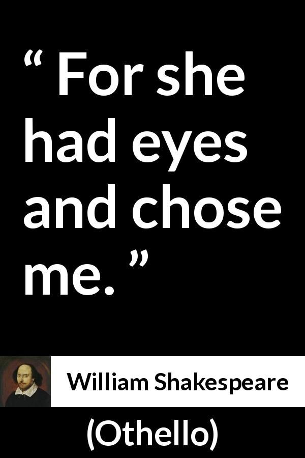 Othello Quotes William Shakespeare Quote About Love From Othello 1623 .