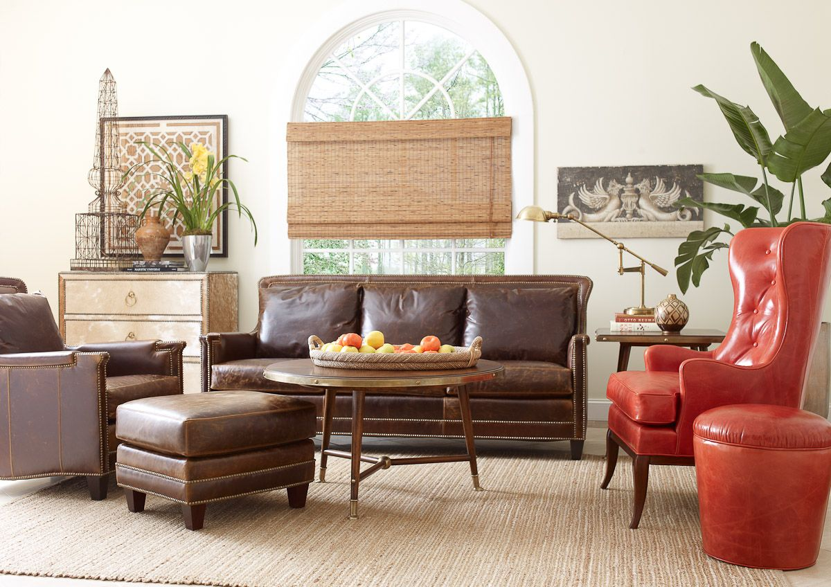 ferguson copeland leather sofa john redondo living in