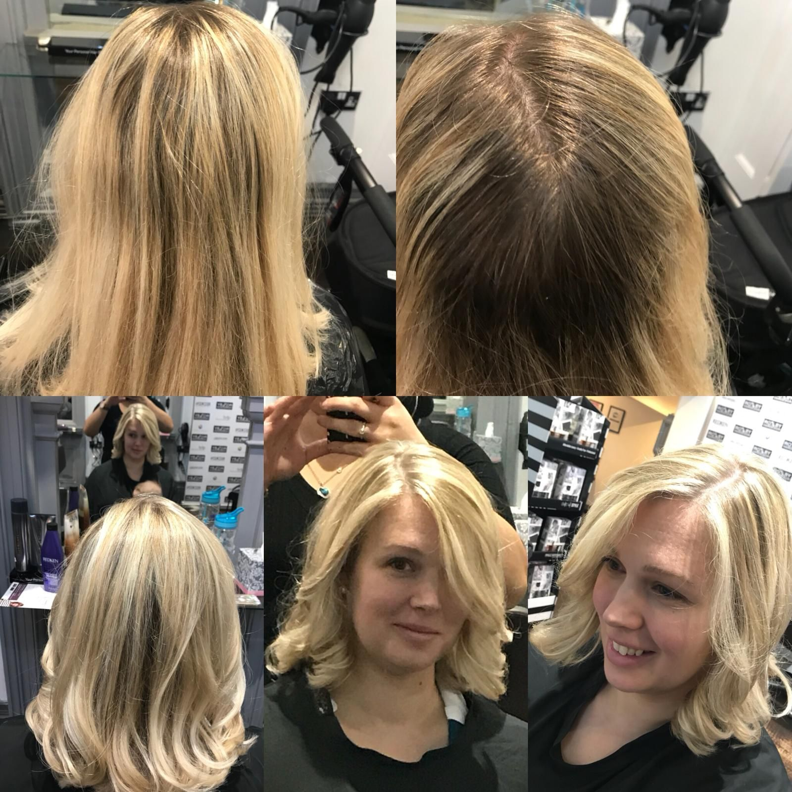 Mel's brightened up this lovely client's hair! How can we brighten