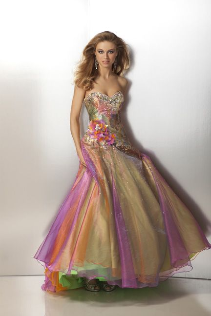 1000  images about Prom Dress on Pinterest  Rainbow dresses Ball ...