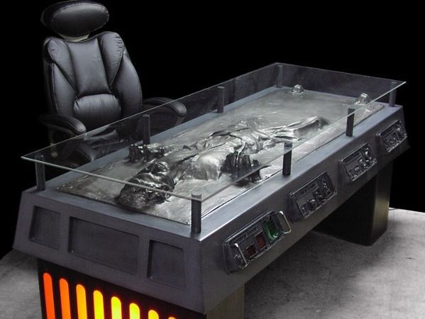 Han Solo Desk, what every person needs