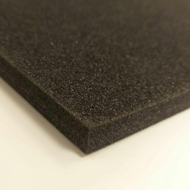 Black plastazote ld45 polyethylene foam sheet various sizes