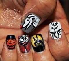 Pin by Nina on Nails i love | Nightmare before christmas ...