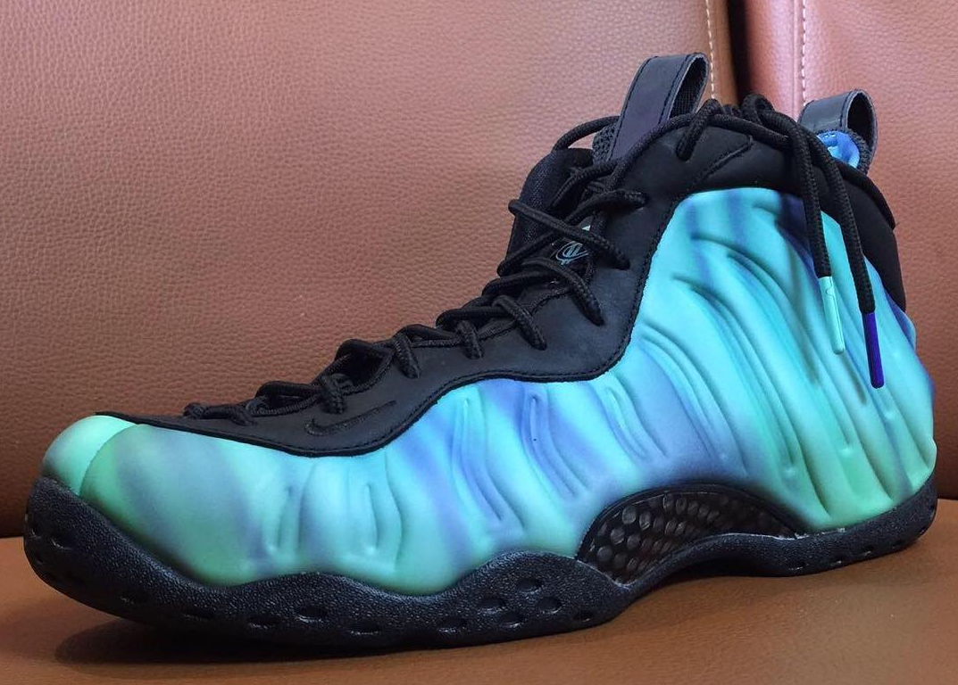 8e0cd556be682 Get Your First Glimpse  Northern Lights  Nike Foamposites