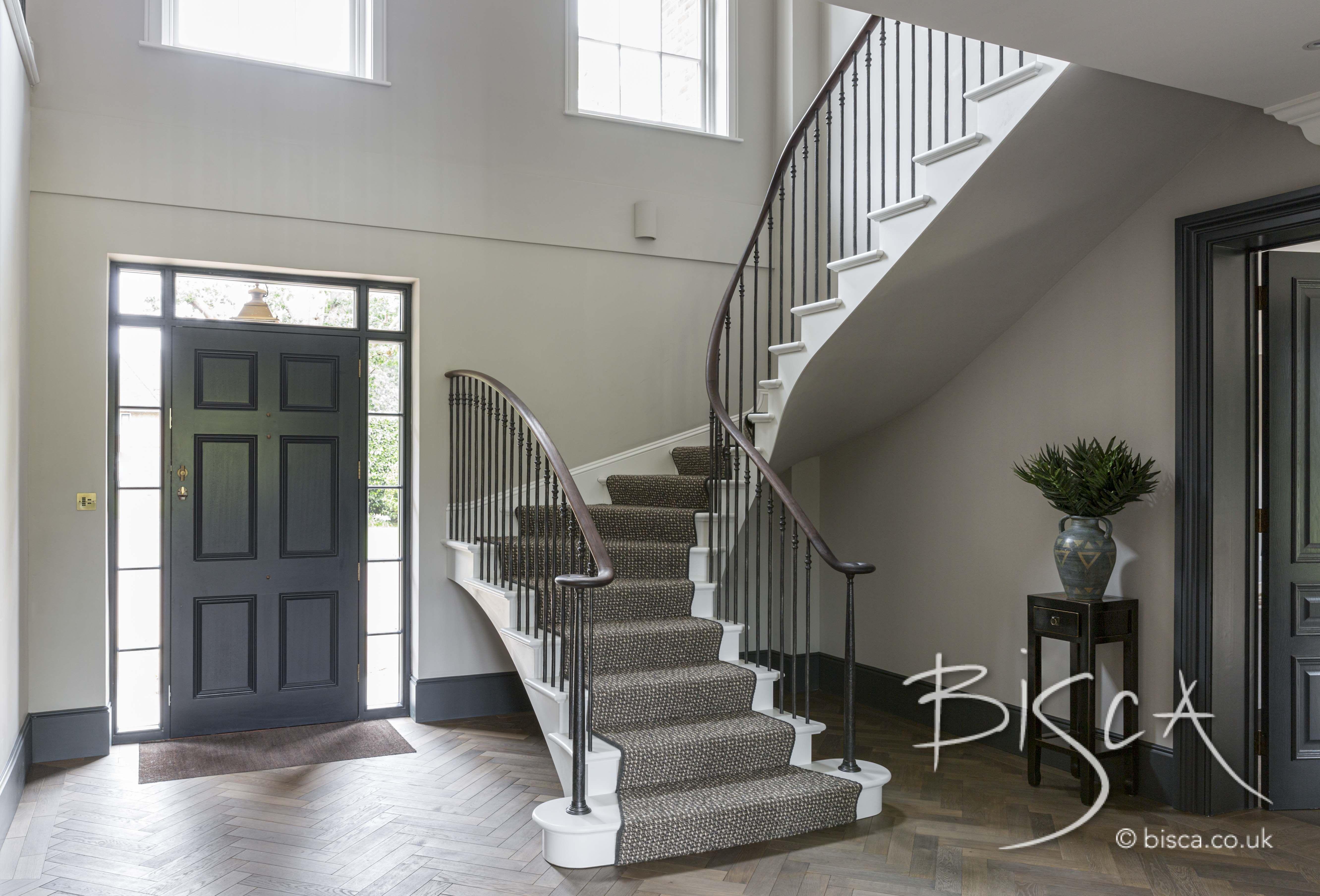 Georgian Staircase   Stairs, Staircase design, U shaped ...