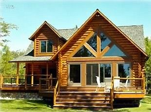 House Vacation Rental In St Ignace From Vrbo Com Vacation Rental Travel Vrbo Vacation Rental House Rental Log Homes