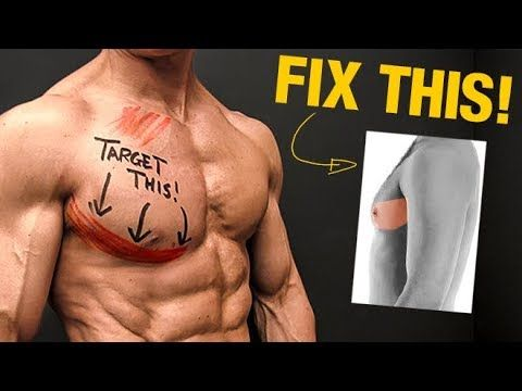 how to standing chest flye  lower chest workout chest